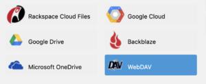 Le protocole WebDAV dans UpdraftPlus